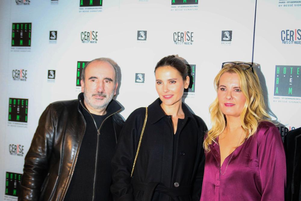 Philippe Harel, Virginie Ledoyen, Carole Fernandez