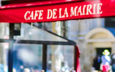 The Café de la Mairie: another institution!