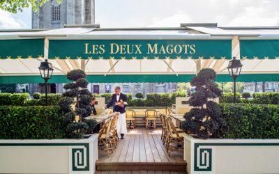 Les Deux Magots, rendez-vous sur la terrasse-jardin