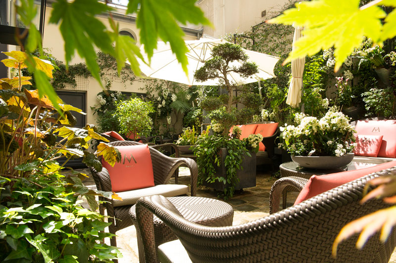 Villa Madame: confidential hotel and intimate garden