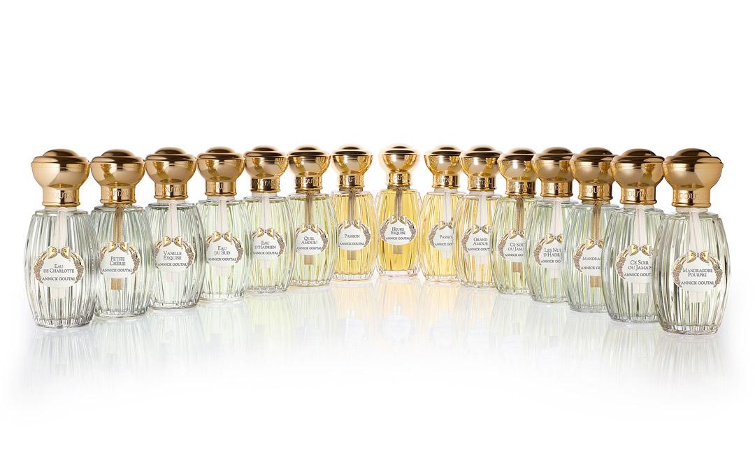 """Annick Goutal: perfumes """"àla française"""""""