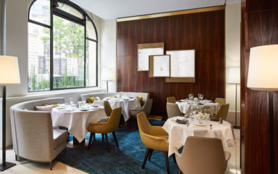 The restaurant of the Montalembert Hotel: a new chef whisks us through time