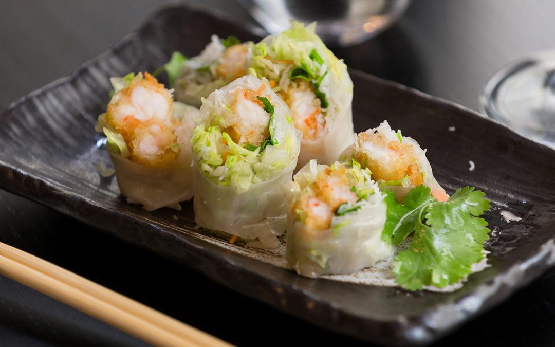 rouleaux de printemps crispy crevettes