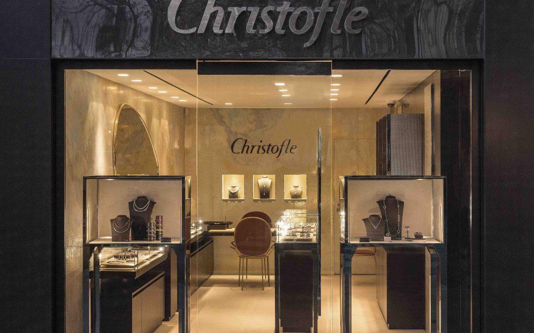 Christofle: la Maison dédie sa nouvelle enseigne à l'art du bijou