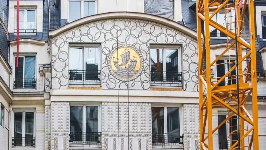 Façade de l'hôtel Lutetia