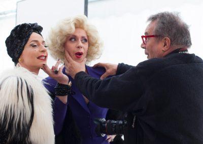 Making of : Oliviero Toscani vous marie à La Hune