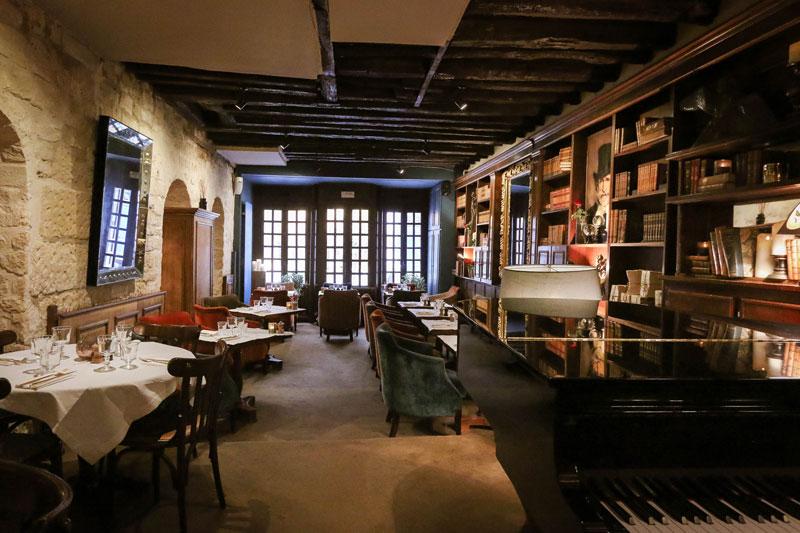 Restaurant Monteverdi, le tableau vivantde Saint-Germain