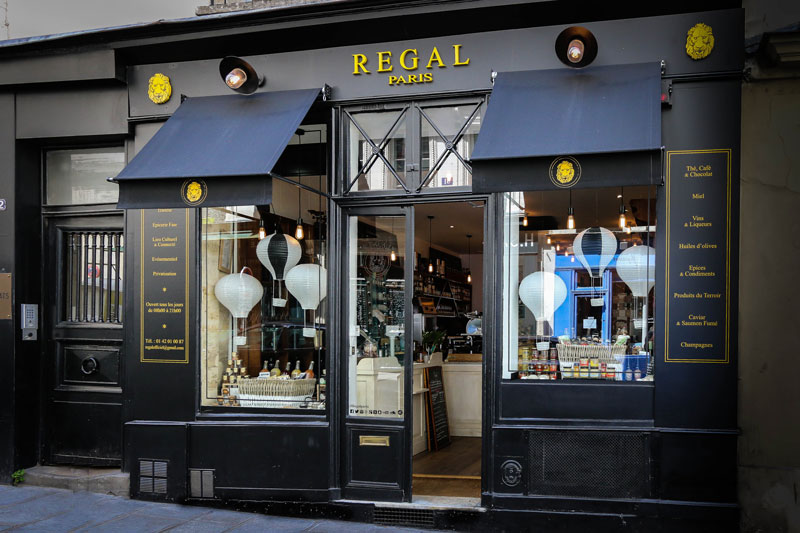Regal Paris, la gastronomieentre amis