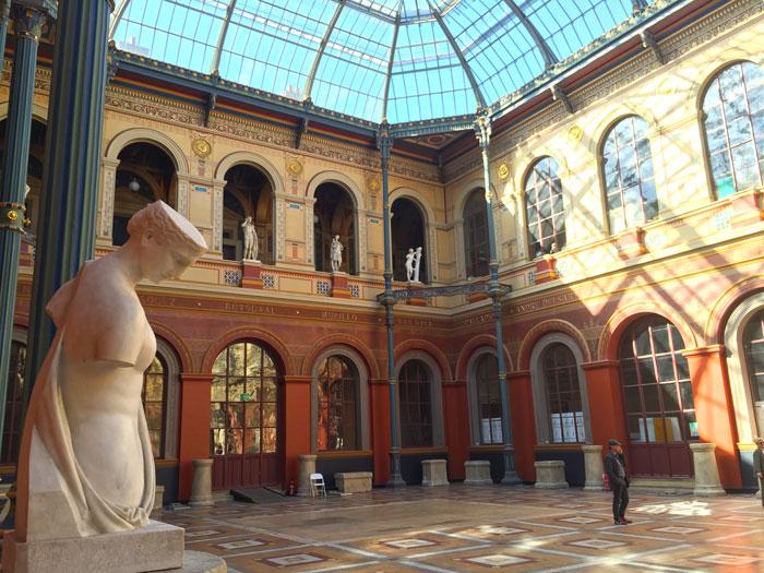 Cour intérieure des Beaux-Arts