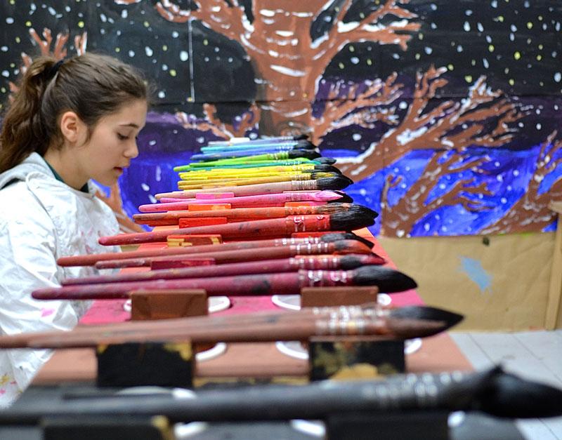 stage peinture à Saint-Germain des Arts