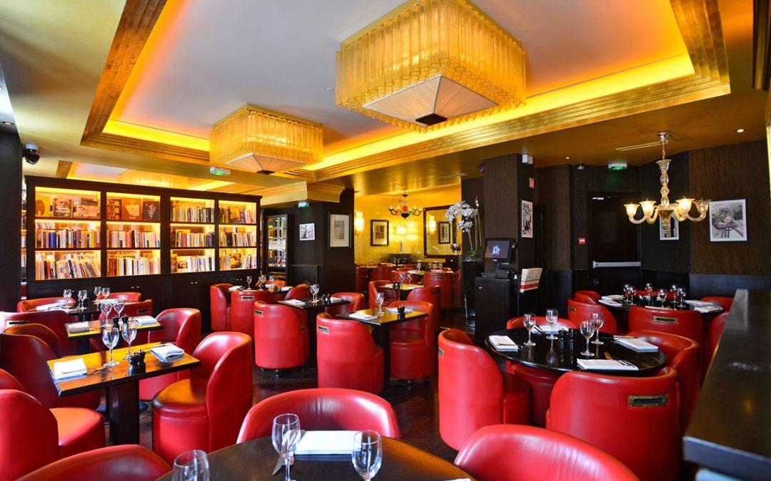 Café Les Éditeurs: vous êtes à Saint-Germain-des-Prés!