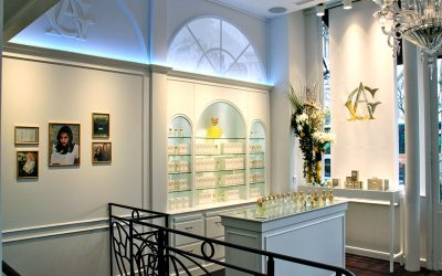 The enchanted Christmas of Annick Goutal