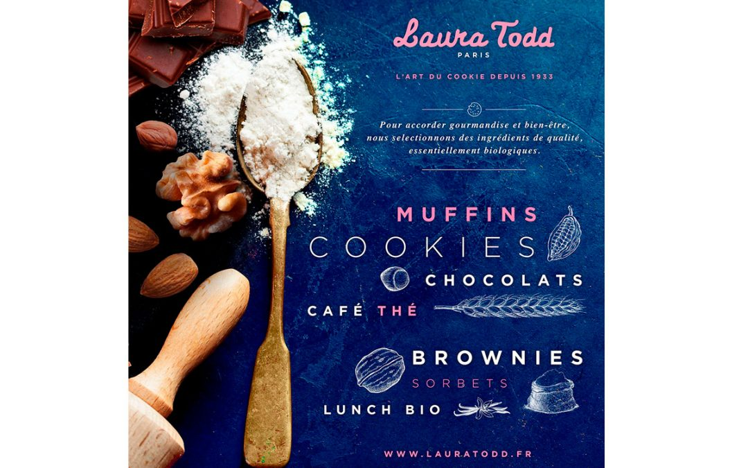 Laura Todd : cookies gourmands et bio