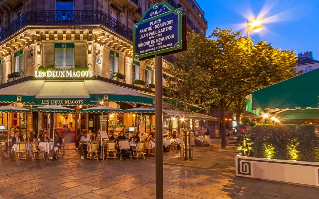 Les Deux Magots got news for you!
