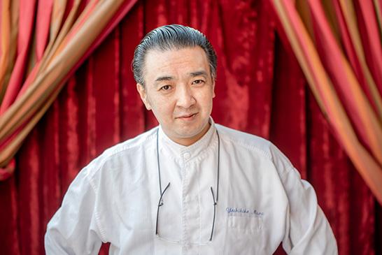Le chef étoilé du Dôme, Yoshihiko Miura.
