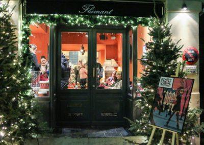 Tarti-fête de Noël chez Flamant