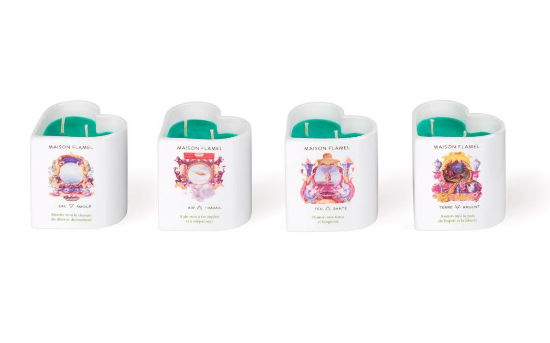 Bougies Alchimiques Maison Flamel